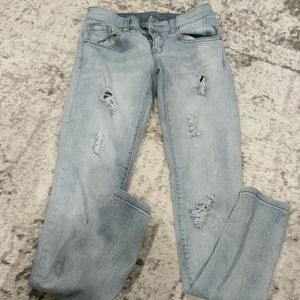 Dynamite faded skinny jeans